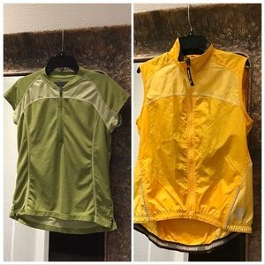 Novara cyclist bundle size S shirt & vest